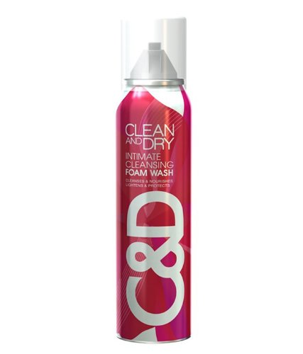 CLEAN AND DRY INTIMATE CLEANSING FOAM WASH  85 GM