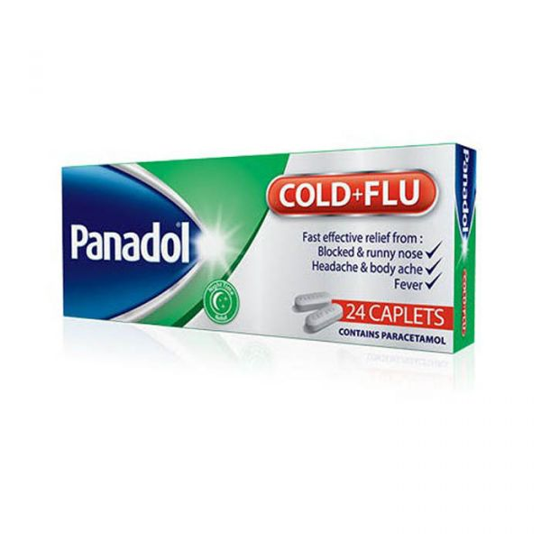 PANADOL COLD AND FLU NIGHT 24'S